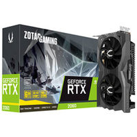 Zotac NVIDIA Geforce RTX 2060 6GB DDR6 Video Card