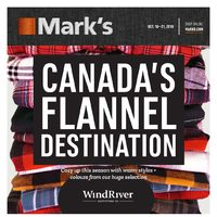 Mark's - 6 Days of Savings - Canada's Flannel Destination Flyer