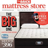 The Brick - Mattress Store - The Big One Flyer