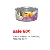 Purina Friskies Cat Food Cans