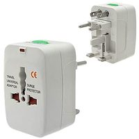 Charge Worx 4-in-1 Travel Ac Adapter With Surge Protection