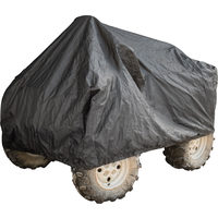 Power Fist Black Trailerable ATV Covers - 95L x 50W x 45H In.