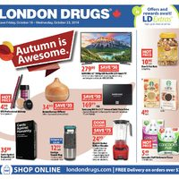 - 6 Days of Savings - Autumn Is Awesome Flyer