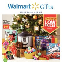 Walmart - Gift Book - Spend Small, Give Big Flyer