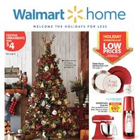 Walmart - Home Book - Welcome The Holidays For Less Flyer