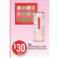 Quo Winter Rescue Or Party Perfect Eye Palette Set