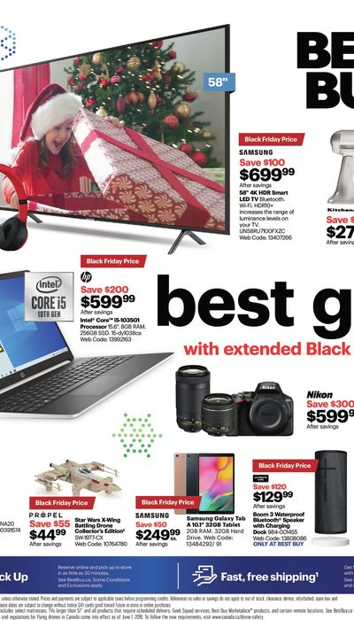 Best Buy - Weekly - Save On The Best Gifts Flyer