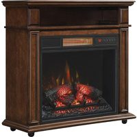 Cherry Finish Duraflame Infrared Electric Fireplace