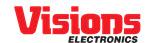 Visions Electronics logo