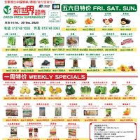 Green Fresh Supermarket - Weekly Specials Flyer