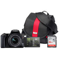 Canon EOS SL3 DSLR 18-55 mm Camera, Bag & 32GB Card Bundle