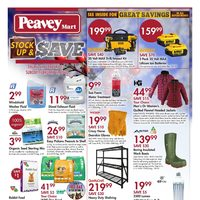 PeaveyMart - Stock Up & Save Flyer