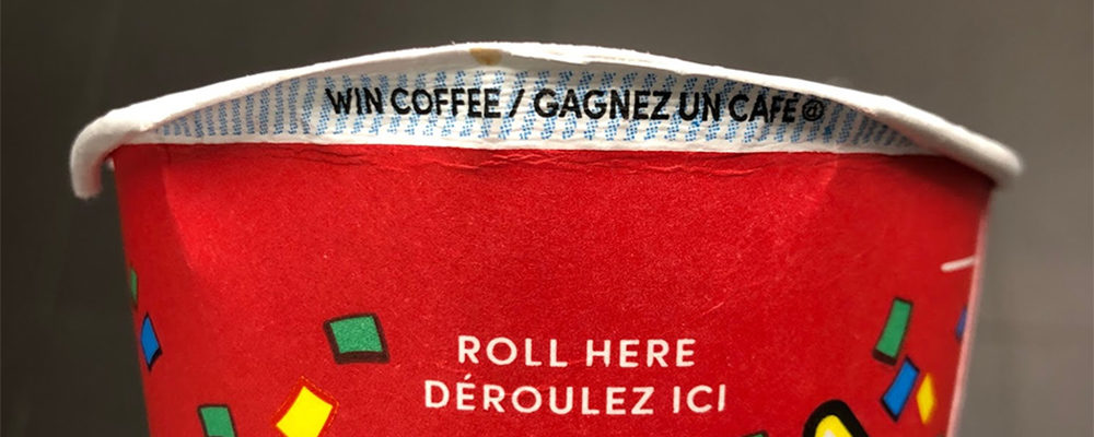 Tim Hortons Eliminating Paper Roll Up The Rim Cups Amid Coronavirus Concerns