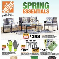 - Weekly - Spring Essentials Flyer