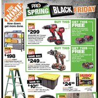- Weekly - Pro Spring Black Friday Flyer