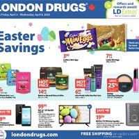 London Drugs - 6 Days of Savings - Easter Savings Flyer