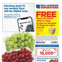 Real Canadian Superstore - Weekly - Happy Easter Flyer
