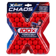 Compatible Nerf Rival Ammo - Red 100