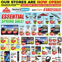 - Essential Spring Sale Flyer