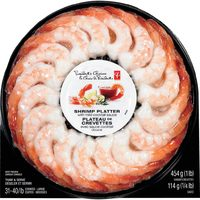 PC Shrimp Platter with Sauce Cooked or PC Bacon Wrapped Scallops