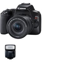 Canon EOS Rebel SL3 DSLR With EF-S 18-55mm IS STM Lens Kit And Speedlite