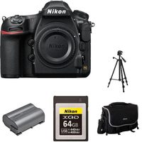 Nikon D850 Camera Body Plus Rechargeable Battery, Camera Bag, Mini Tripod And XQD 64GB Memory Card