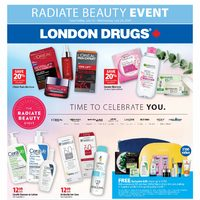 London Drugs - Radiate Beauty Event Flyer