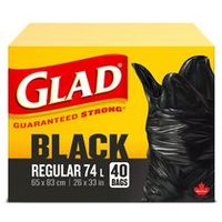 Glad Black Garbage Bags