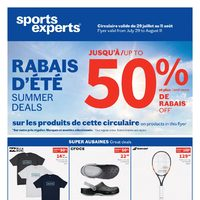 Sports Experts - Summer Deals Flyer