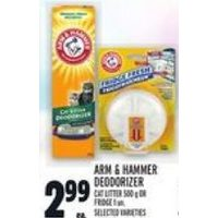 Arm & Hammer Deodorizer Cat Litter Or Fridge