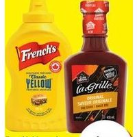 French's Mustard, Club House La Grille BBQ Sauces