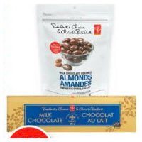 PC Chocolate Bar or Chocolate Covered Almonds