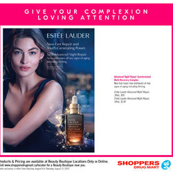 Shoppers Drug Mart - Beauty Boutique Locations Only - Give Your Complexion Loving Attention Flyer