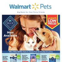 Walmart - Pets - Big Deals For Your Furry Friends Flyer