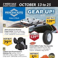 Princess Auto - 2 Week Sale - Gear Up Flyer