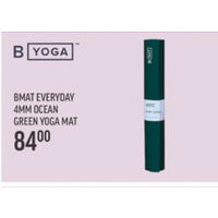 Yoga Bmat Everyday 4MM Ocean Green Yoga Mat