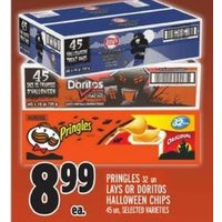 Pringles Lays or Doritos Halloween Chips