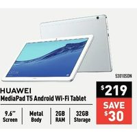 Huawei MediaPad T5 Android Wi-Fi Tablet