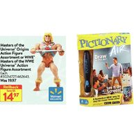 Masters Of The Universe Origins Action Figure Or WWE Masters Of The WWE Universe Action Figure