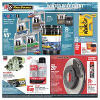 PartSource - Winter Prep Event Flyer