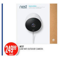 Nest Cam Wifi Outdoor Camera
