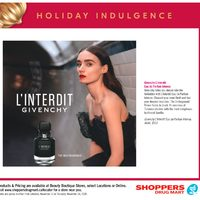 Shoppers Drug Mart - Beauty Boutique Locations Only - Holiday Indulgence Flyer