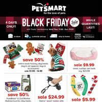 PetSmart - Black Friday Sale Flyer