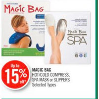Magic Bag Hot/cold Compress, Spa Mask Or Slippers