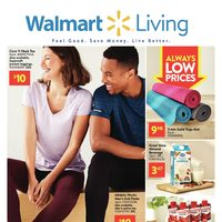 Walmart - Living Book - Feel Good. Save Money. Live Better. Flyer