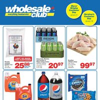 Wholesale Club - Club Savings Flyer