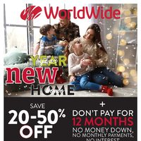 Worldwide Furniture - New Year, New Home Flyer