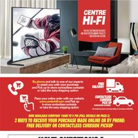 Centre HIFI - Liquidation Sale! Flyer