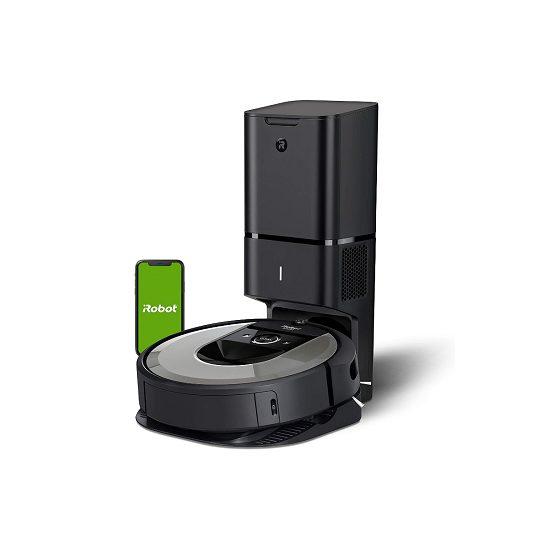 2. Runner Up: iRobot Roomba i6+ (6550) Robot Vacuum