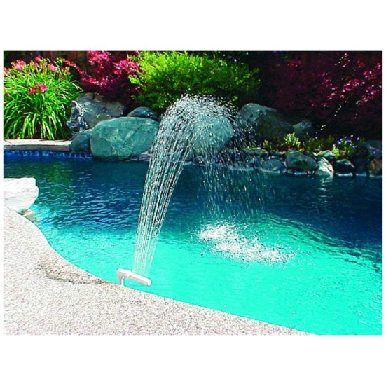 4. Best Pool Add-On: Poolmaster 54507 Pool and Spa Waterfall Fountain